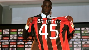 Balotelli's parting shot