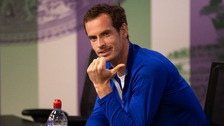 Andy Murray told reporters at a press conference on Saturday that he would compete at Wimbledon however he's since dropped out.