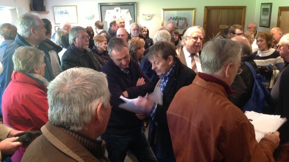 Bill Cash meets residents today to discuss HS2 concerns