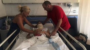 NI teen left in coma after crash stranded in Spain
