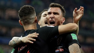 Croatia into World Cup quarter finals defeating Denmark in dramatic shootout