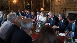 Prime Minister Theresa May will host ministers at Chequers in Buckinghamshire (Aaron Chown/PA)