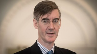 Jacob Rees-Mogg believes the PM is in danger of splitting the Conservatives.