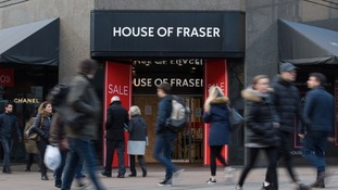 House of Fraser is closing 31 stores