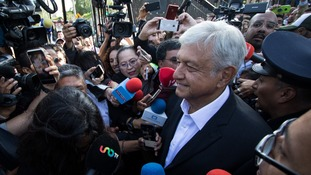 Andres Manuel Lopez Obrador is the presidential candidate for the coalition