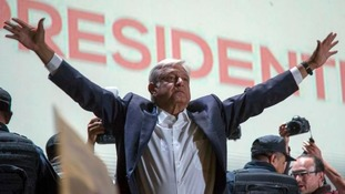 Mexico's Lopez Obrador claims victory in 'historic' presidential election