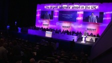 The NASUWT conference in Birmingham