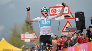 Froome cleared of any wrongdoing by world cycling's governing body