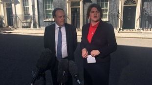 Arlene Foster and Nigel Dodds met the Prime Minister at Downing Street.