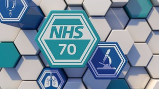 The National Health Service is celebrating 70 years since it was created.