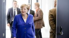 Angela Merkel had been in a stand-off.