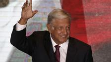 Andres Manuel Lopez Obrador spoke to President Trump about the North American Free Trade Agreement.
