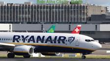 Ryanair said air traffic control strikes left more than 210,000 passengers facing flight cancellations in June.