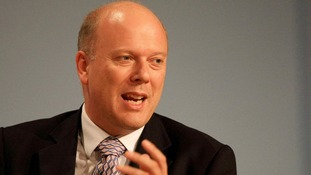 Justice Secretary Chris Grayling.