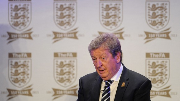 England manager Roy Hodgson during the FA Anniversary Celebrations Launch last month.