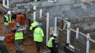 'Brakes are off' for building firms as growth rebounds