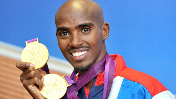 Mo Farah won two Olympic gold medals in London.