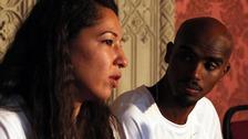 Mo Farah and his wife Tania