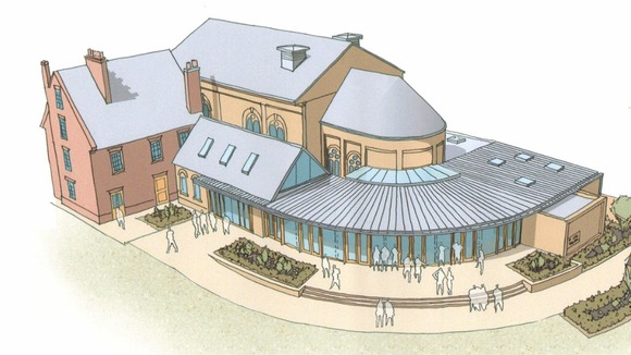 Bedford School theatre plans