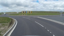 The NDR, which opened just 11 weeks ago is to have improvements made on two roundabouts
