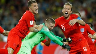 England ended their penalty shootout hoodoo and reach the World Cup quarter-finals at the expense of Colombia