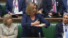 Penny Mordaunt was applauded by her fellow MPs.