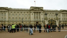 Buckingham Palace Tasering