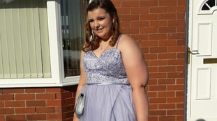 Bullied girl Courtney Carter gets prom night she'll never forget
