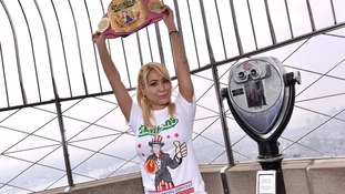 Miki Sudo kept her competitive eating title.