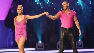 Shayne Ward and his partner Maria Filippov were voted off the show.