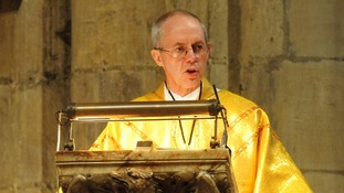 The new Archbishop of Canterbury, Rt Rev Justin Welby will be formally confirmed in his new role at a ceremony in St Paul's Cathedral today.