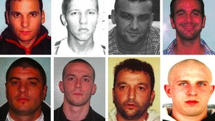 Most-wanted list of foreign criminals believed to be hiding in Britain released