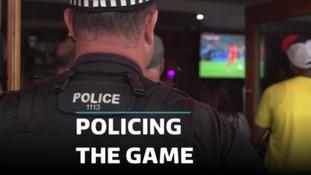 World Cup police patrols