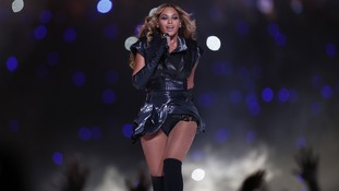Beyonce stars in Super Bowl spectacular