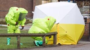 Yulia and Sergei Skripal were found slumped on a bench in Salisbury.