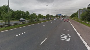 M60 closed in BOTH directions near Denton