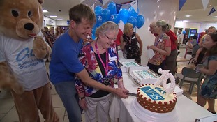 Celebrations and thanks for the NHS at 70