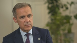 Governor of the Bank of England Mark Carney warns there will be an economic cost to a 'no deal' Brexit