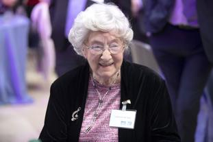 Catherine Reid attended a reception to mark 70 years of the NHS