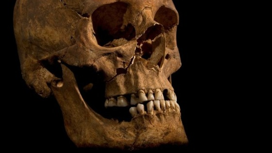 King Richard III skull was found under a Leicester car park