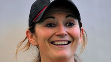 Captain Charlotte Edwards hit 109 to become the leading scorer in women's one-day internationals