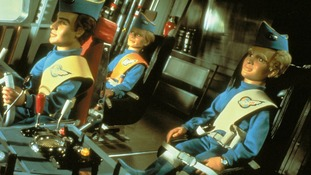 The Tracy brothers inside Thunderbird 1