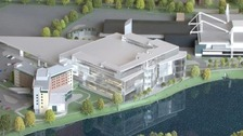 A model of the building