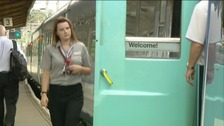 Greater Anglia train operator Abellio says it&#x27;s made real steps in customer service and punctuality