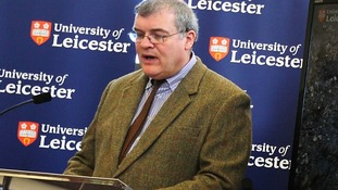 Lead archaeologist Richard Buckley ended a highly anticipated news conference with confirmation that the remains did belong to Richard III.