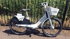 Electric bikes worth hundreds of pounds have been abandoned in Derby.