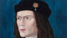 Artists impression of how Richard III looked
