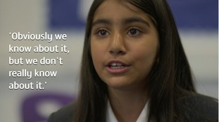 Should students teach students about knife crime?
