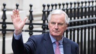 Theresa May told her Cabinet that she will go above the head of Michel Barnier.