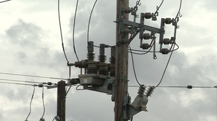 The power cut has hit around 400 homes.